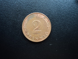 RÉPUBLIQUE FÉDÉRALE ALLEMANDE : 2 PFENNIG   1994 G     KM 106a      SUP * - [ 7] 1949-… : FRG - Fed. Rep. Germany