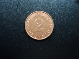 RÉPUBLIQUE FÉDÉRALE ALLEMANDE : 2 PFENNIG   1995 G     KM 106a      SUP - [ 7] 1949-… : FRG - Fed. Rep. Germany