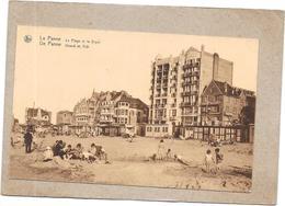 DE PANNE - LA PANNE - BELGIQUE - La Plage Et La Digue - DELC2 - - De Panne