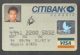 PAKISTAN CITIBANK VISA CARD - Geldkarten (Ablauf Min. 10 Jahre)