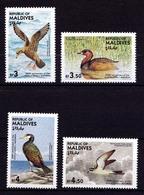 Malediven Maldives 1985 Vögel Birds Animals Wildlife 1092-96 ** MNH  (9177 - Vögel