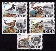 Alderney Vögel Birds Seevögel 1984 Satz  **  Mi. 13-17  (9732 - Vögel