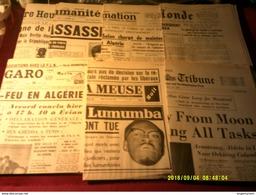 LOT DE 28 FAC SIMILE  DES JOURNAUX  DES ANNEES 60  QUI ONT FAIS LES GROS TITRES - Magazines & Newspapers