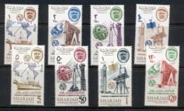Khor Fakkan 1965 Mi#25-32 ITU Centenary MUH - Khor Fakkan