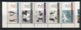 Khor Fakkan 1965 Mi#33-37 Pan Arab Games Str5 MUH - Khor Fakkan