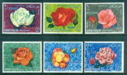 Khor Fakkan 1966 Roses MUH Lot84457 - Khor Fakkan