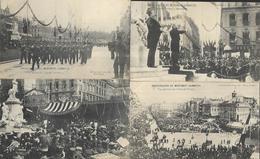 Inauguration Du Monument  Gambetta  6 CPA   1905 - Inaugurations