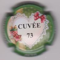 Capsule Champagne PETIT J.C. ( 23 ; Cuvée 73 Contour Vert ) {S38-18} - Champagne