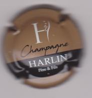 Capsule Champagne HARLIN P&F ( Nr ; Marron  Noir Et Blanc ) Nouvelle {S38-18} - Champagne