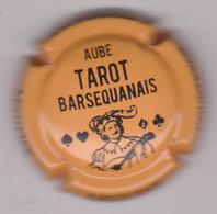 Capsule Champagne DEGUISE Maurice ( 75 ; Tarot Barsécanais , Orange Et Noir ) {S38-18} - Champagne