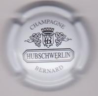 Capsule Champagne HUBSCHWERLIN ( 10 ; Blanc Et Noir ) 5€ {S38-18} - Champagne