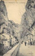 Moustiers Ste Sainte-Marie (Alpes De Haute Provence) - Le Faubourg - Edition Achard - Carte N° 1312 Non Circulée - France