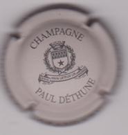 Capsule Champagne DETHUNE Paul ( Nr ; Gris Mat Et Noir ) Nouvelle {S38-18} - Champagne