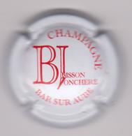 Capsule Champagne BRISSON_JONCHERE ( 20e ; Blanc Et Rouge ) {S38-18} - Champagne