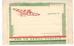 7481 - Via Aerea  5 G - 1900-44 Victor Emmanuel III