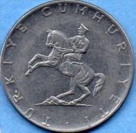 T1/ TURQUIE / TURKEY  5  Lira 1976  KM# 905 - Turquie