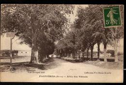FAGNIERES (Marne) - Allée Des Tilleuls - Autres Communes