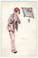 Illustrateur Suzanne Meunier // Femme érotique, Froufrou,Gestes Frivoles No. 4 Série 69 - Meunier, S.