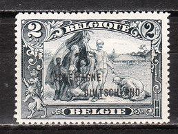 OC52*  Timbre De 1915 Surchargé ALLEMAGNE-DUITSCHLAND - Bonne Valeur - MH* - LOOK!!!! - Weltkrieg 1914-18