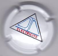 COMMEMORATIVE PETIT TIRAGE DTM ELECTRICITE - Champagne