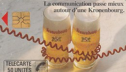 TELECARTE 50...KRONENBOURG.. .. - Francia