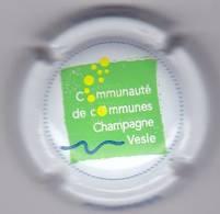 COMMEMORATIVE PETIT TIRAGE SAPEURS POMPIERS COMMUNAUTE DE COMMUNE VESLE - Champagne