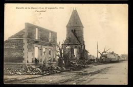 FAREMONT (Marne) - Bataille De La Marne (6 Au 12 Septembre 1914) - L'Eglise - Frankreich