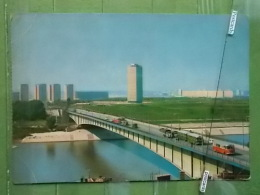 KOV 7-33 - BEOGRAD, BELGRADE, SERBIA, Pont, Bridge Most,  RIVER SAVA, BUS, NOVI BEOGRAD - Serbie