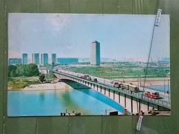 KOV 7-35 - BEOGRAD, BELGRADE, SERBIA, RIVER SAVA, Pont, Bridge Most, BUS - Serbie