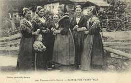 Costumes De La Savoie SAINTE FOY TARENTAISE  RV - France