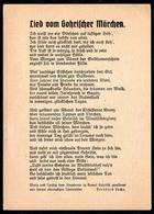 B6991 - Gohrisch - Liedkarte - Bernhard Fuchs - Lied Vom Gohrischer Märchen - Ilustradores & Fotógrafos