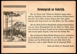 B6992 - Gohrisch - Liedkarte - Bernhard Fuchs - Heimatgruß An Gohrisch - Illustrateurs & Photographes