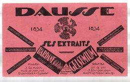 Paris Rue Aubriot : Buvard DAUSSE  (pharmacie) (PPP9223) - Chemist's