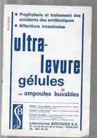 Paris Rue Du Moulin De La Vierge : Buvard ULTRA LEVURE (pharmacie) (PPP9225) - Chemist's