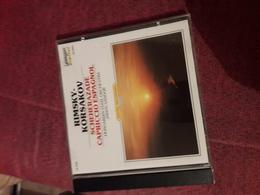 Cd  Rimsky Korsakov  Scheherazade Capriccio Espagnol - Klassik