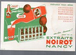 Nancy (Meurthe Et Moselle) Buvard EXTRAITS NOIROT (PPP9229) - Food