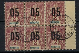 MAYOTTE          N°  YVERT    21 X 6    OBLITERE       ( O   2/10 ) - Gebruikt