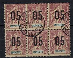 MAYOTTE          N°  YVERT    21 X 6  ( 1 )   OBLITERE       ( O   2/10 ) - Gebruikt