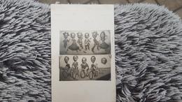 Carte Photo Montage TRUCAGE LE TOUR DE FRANCE CYCLISME PASTORALE Surréaliste Surréalisme  1920-1940 BAUTERS - Fotografía