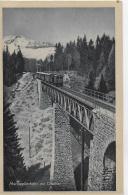AK 0032  Mariazellerbahn Mit Ötscher - Viaduct Mit Eisenbahn Um 1920-30 - Mariazell