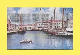 Barbados BWI 1962  Harbor Postcard - Barbades