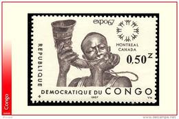 Congo 0651B **  Exposition Montreal  MNH - République Démocratique Du Congo (1964-71)
