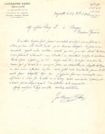 Vieux Papier De Beyrouth / Beirut (alors En Syrie), 1902, Négociant En Quincaillerie Fabri, Chapelets De Capbis En Béarn - Invoices & Commercial Documents