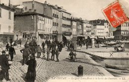 La  Ciotat -   Le  Quai  Louis - Benet  à  La  Sortie  Des  Ouvriers. - La Ciotat
