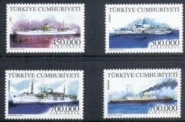 Turkey 2002 Merchant Ships MUH - 1921-... Repubblica
