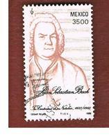 MESSICO (MEXICO) -  SG 1734  - 1985  J.S. BACH, COMPOSER  -  USED° - Messico