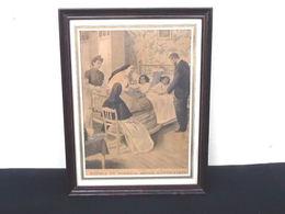 Llustration Du 2 Mars1902 Radica Et Doodica Après L' Opération  Le 9 Février 1902 Les Soeurs Siamoises Séparées Par Le C - Tapis & Tapisserie