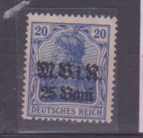 Roumanie / Occupation Allemande / N 6 / 20 B Sur 20 P Bleu / NEUF ** - Foreign Occupations