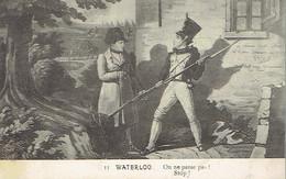 Waterloo On Ne Passe Pas ! Stop (vers Jolimont Haine-Saint-Paul, 16/9/1912) - Waterloo