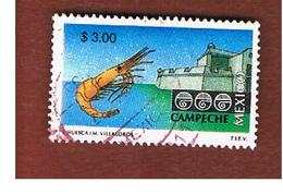 MESSICO (MEXICO) -  SG 2418  - 1997  TOURISM: CAMPECHE                       -  USED° - Messico